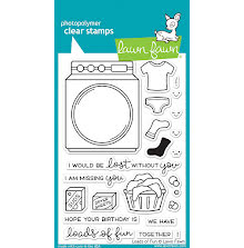 Lawn Fawn Clear Stamps 4X6 - Loads Of Fun