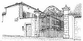 logo du clos de la garenne maison d'hotes de charme en charente maritime : gites chambres et table d'hotes