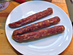 Photo: Chinese sausages
