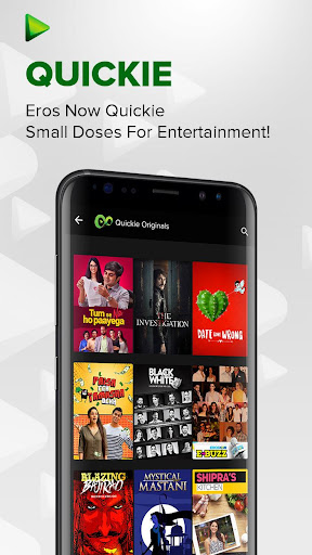 Eros Now - Watch online movies, Music & Originals screenshot