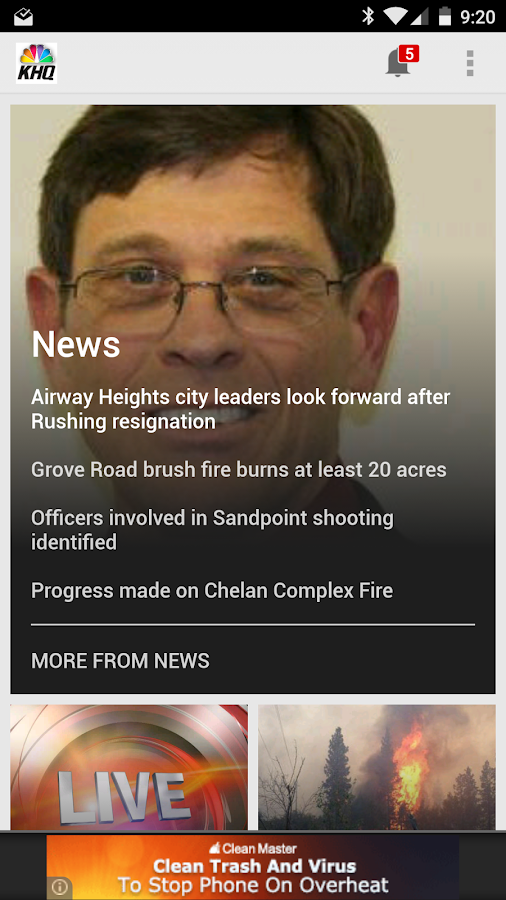 KHQ Local News- screenshot