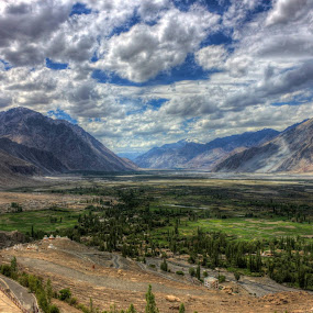 Nubra Valley by Mangesh Jadhav - Landscapes Cloud Formations (  )