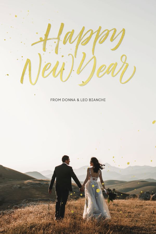 Donna & Leo's Wedding - New Year's Template