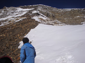 Photo: it was a rocky way towards summit