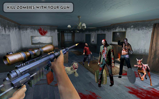 Zombies Frontier Dead Killer: TPS Zombie Shoot 1.0 screenshots 1