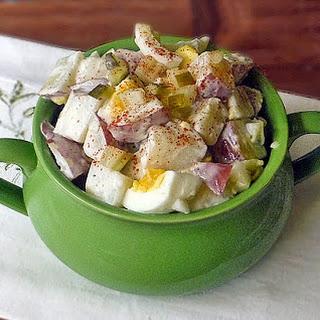 Old Fashioned Potato Salad #SundaySupper.
