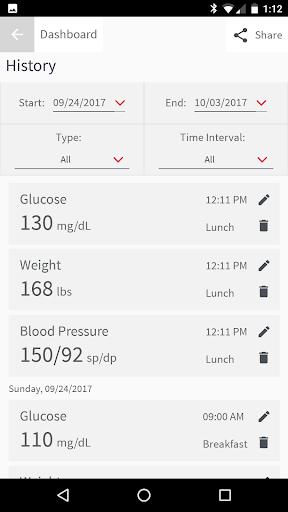 OnTrack Diabetes screenshot 2