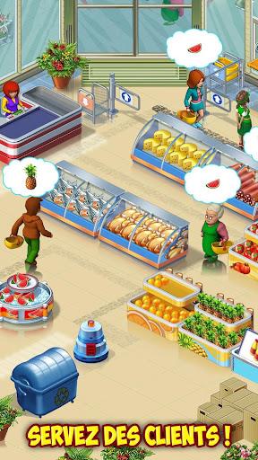 Code Triche Supermarket Mania : le pu00e9riple APK MOD screenshots 2