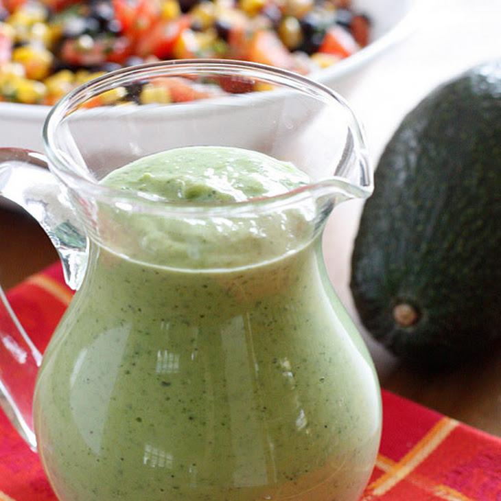 Zesty Avocado Cilantro Buttermilk Dressing Recipe