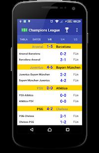 Football leagues - náhled
