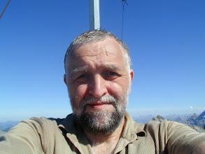 Photo: unterm Gipfelkreuz des hinteren Grauspitz, 2474 m