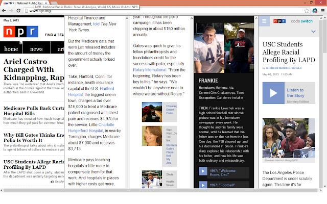 Collumned NPR