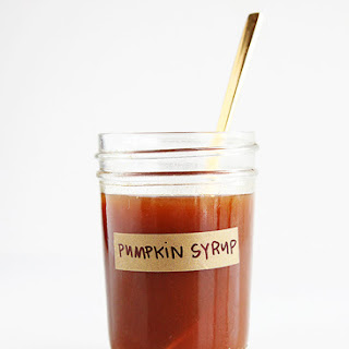 Maple Pumpkin Latte Syrup.