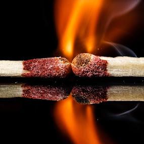 by Awais Mustafa - Abstract Fire & Fireworks