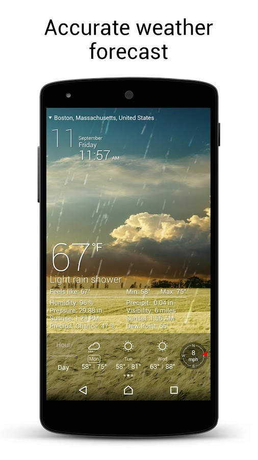 Weather Live Free- screenshot