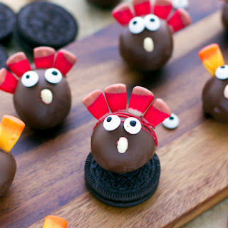 Thanksgiving Turkey OREO Cookie Balls