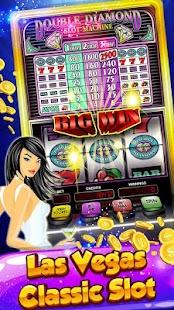 Double Diamond Slot Machine Screenshot