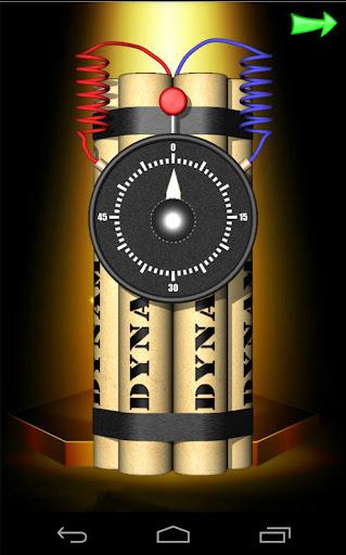 Time Bomb Crack Screen Prank