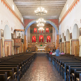 The San Juan Bautista Chapel  by Craig Turner - Buildings & Architecture Other Interior ( mission, san juan bautista, chapel, ca, spanish mission )
