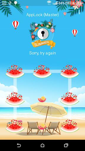 App Lock Master : Theme Summer