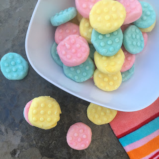 No Bake Cream Cheese Mints