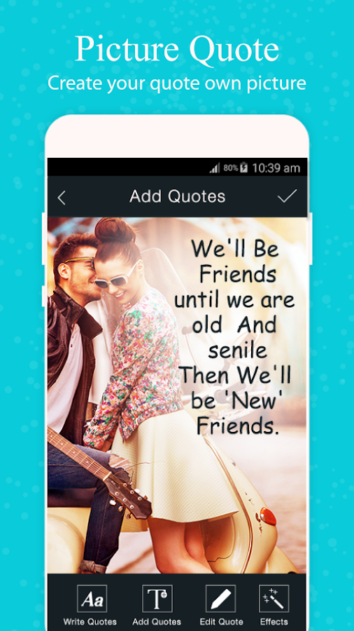 Picture Quotes - Quote Maker- screenshot