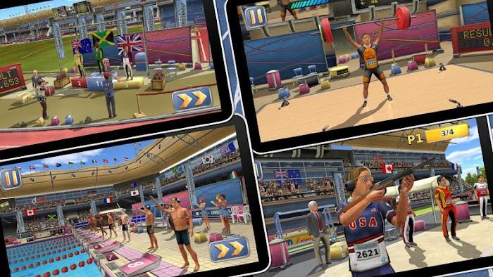 Athletics 2: Summer Sports- screenshot