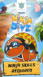 Ninja Dive- screenshot thumbnail