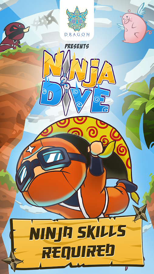 Ninja Dive- screenshot