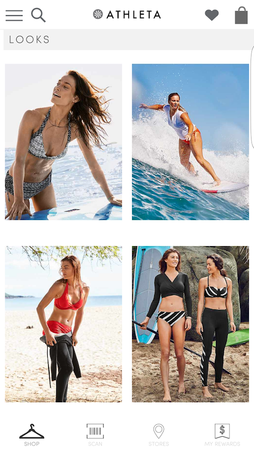 Athleta- screenshot
