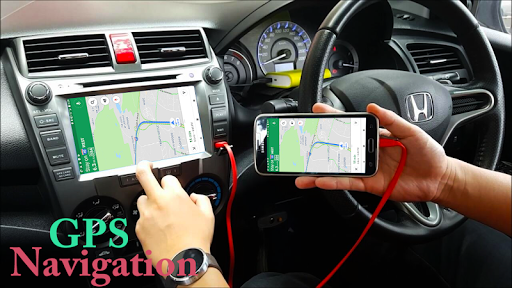 Voice GPS Navigator: Live Traffic & Transit Maps 3.3 screenshots 1