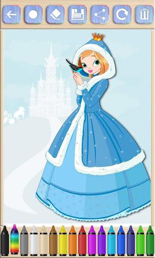 涂料圣诞公主