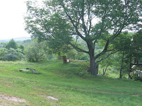 Photo: Yoga Ranch, Woodbourne, NY - a seat with a view