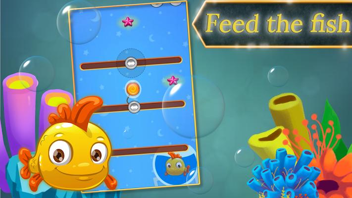 Feed the Fish - Cut My Rope - screenshot