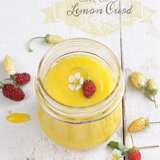 Olive Oil Lemon Curd.