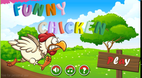 Funny Chicken screenshot 0