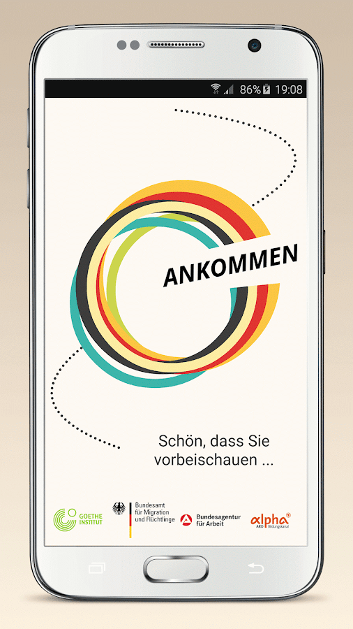 Ankommen- screenshot