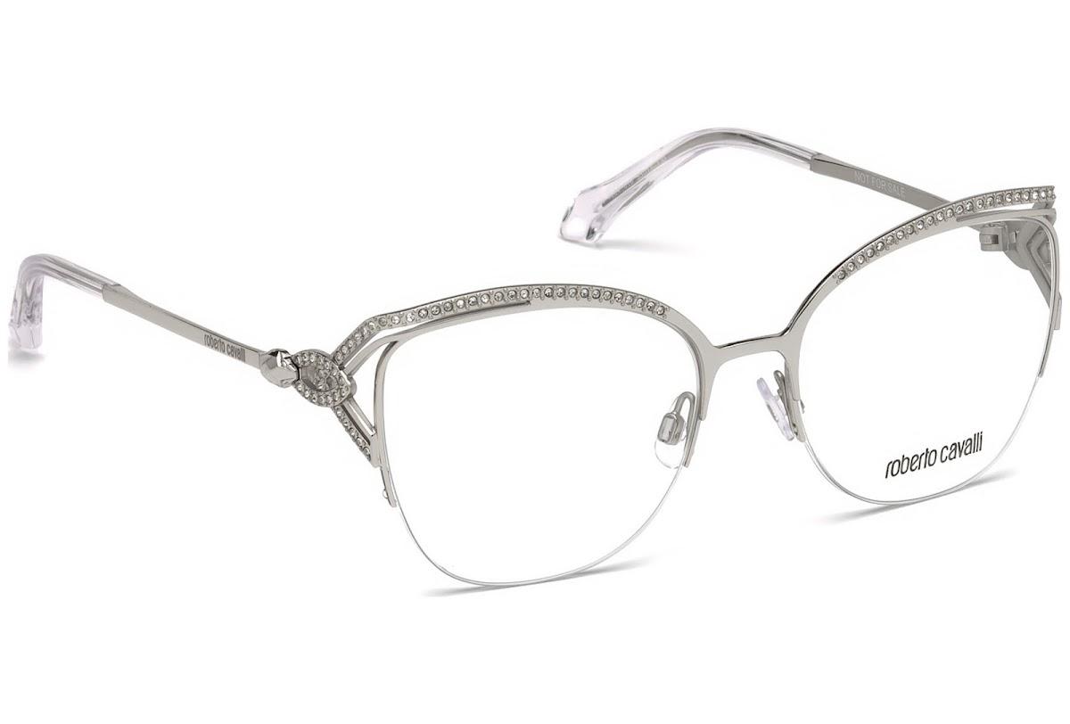 c960ac63f8 Buy Roberto Cavalli Forte RC5054 C53 016 (shiny palladium   ) Frames ...