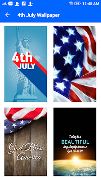 Happy 4th July Live Wallpaper Poster