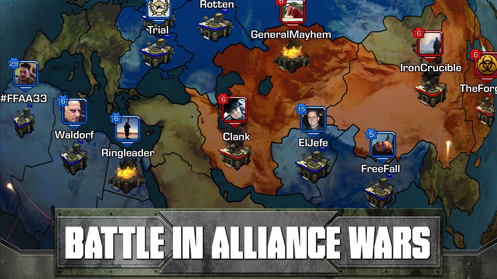 Empires and Allies- screenshot