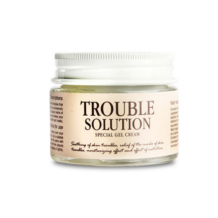 Graymelin Korea TROUBLE SOLUTION SPECIAL Anti Pimple acne GEL CREAM 50 G by Supermodels Secrets