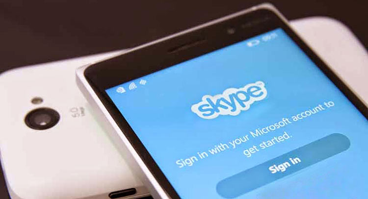 Skype is one choice for making voice calls with friends or family for free over the Internet.