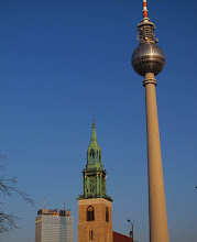 Photo: Fernsehturm, Marienkirche og Park Inn Hotel