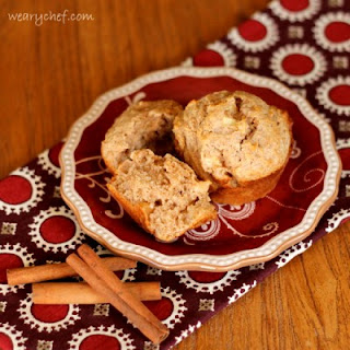 Apple Cinnamon Sour Cream Muffins