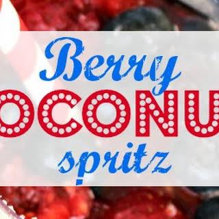 Berry Coconut Spritz.