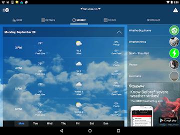 WeatherBug Screenshot 16