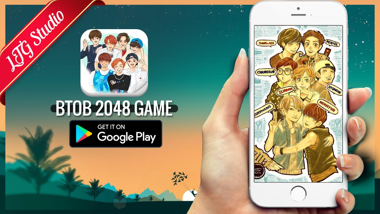 Google theme kpop exo - 2048 Btob Kpop Game Screenshot