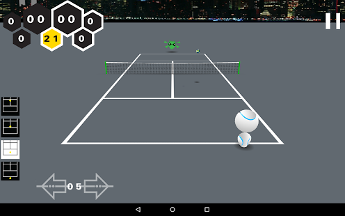 Alien Tennis- screenshot thumbnail