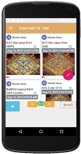 COC Base Link Finder App Report on Mobile Action - App Store