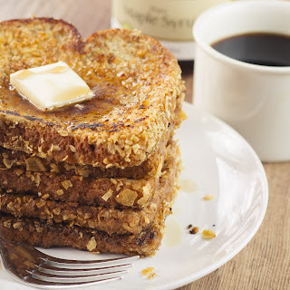 Rum Crunch French Toast.
